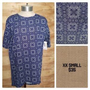 XXSmall LuLaRoe Irma Shirt NWT